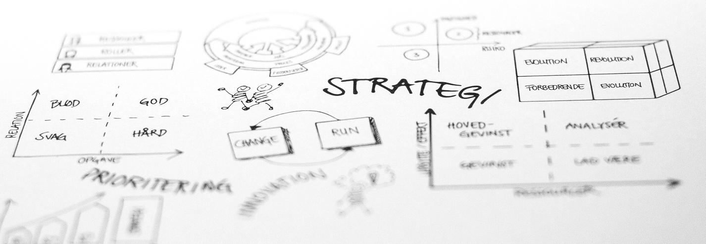 Strategi tegning