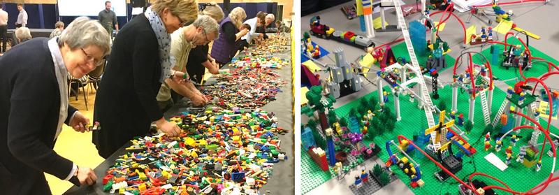 LEGO® SERIOUS PLAY® workshop bl.a i Vesthimmerlands Kommune